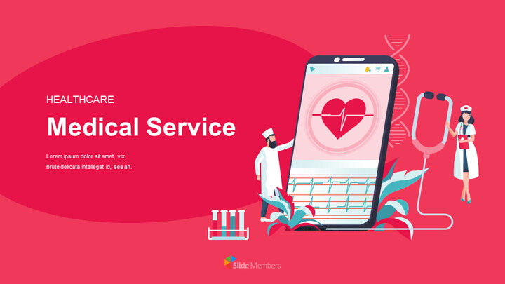 Healthcare Medical Service Easy Google Slides Template_01