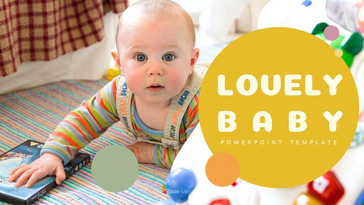 Lovely Baby Template Design_02