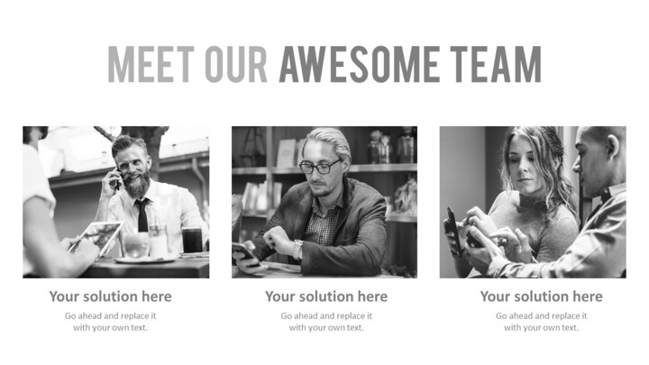 Meet Our Awesome Team Slide_01