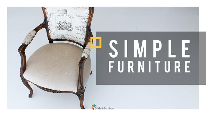 Simple furniture Template Design_01