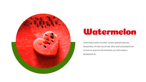 Watermelon Simple PowerPoint Design_02