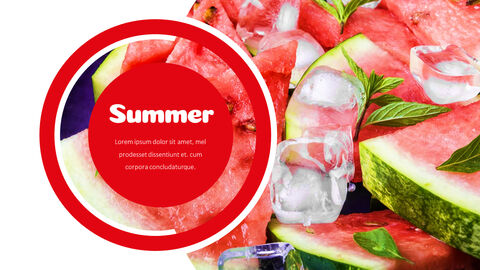 Watermelon Simple PowerPoint Design_04