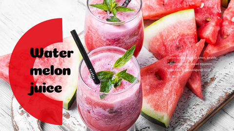 Watermelon Simple PowerPoint Design_05