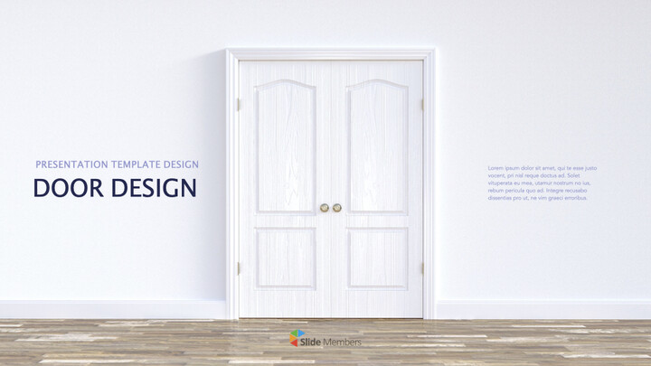 Door Design Ultimate Keynote Template_01