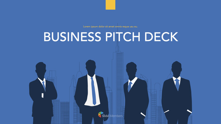 Modern Business Pitch Deck Keynote mac_01