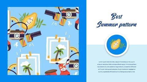 여름 일러스트레이션 비즈니스 프레젠테이션 PPT_19