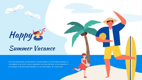 Summer Illustration Presentation Google Slides Templates_05