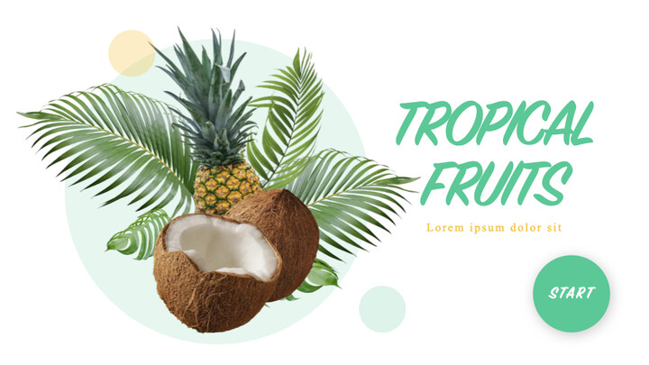 Tropical Fruits iMac Keynote_01