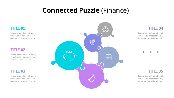 Connected Puzzle List Diagram Animated PowerPoint Templates_02