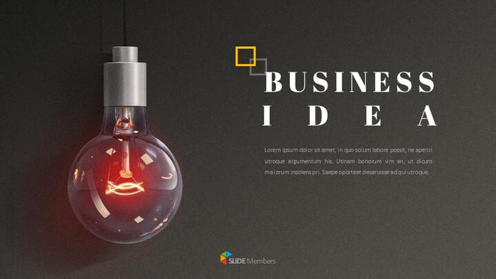 사업 아이디어 구글슬라이드 템플릿_01