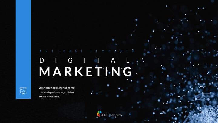 디지털 마케팅 프레젠테이션을 위한 구글슬라이드 템플릿_01