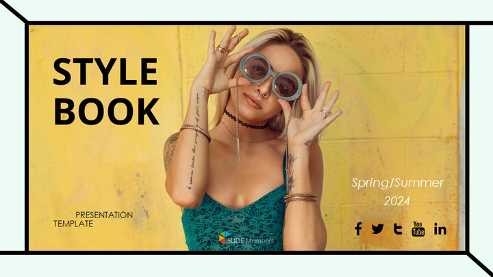Girls Street Style Google Slides Themes for Presentations_01