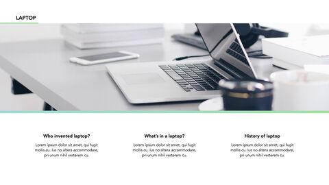 노트북에 대한 사실 심플한 키노트 템플릿_06