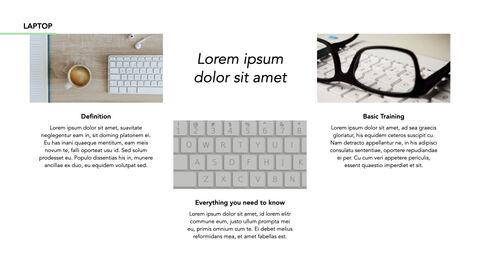노트북에 대한 사실 심플한 키노트 템플릿_09
