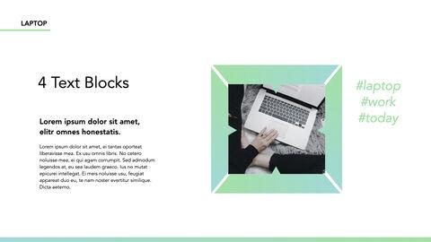 노트북에 대한 사실 심플한 키노트 템플릿_10