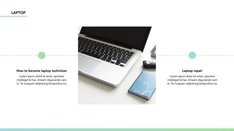 노트북에 대한 사실 심플한 키노트 템플릿_14