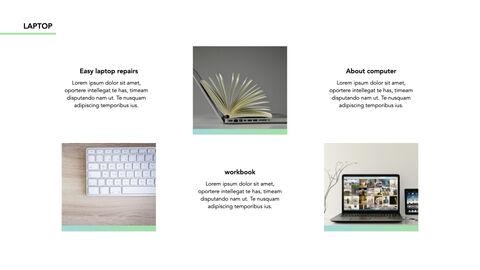 노트북에 대한 사실 심플한 키노트 템플릿_17