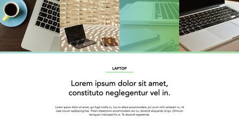 노트북에 대한 사실 심플한 키노트 템플릿_27