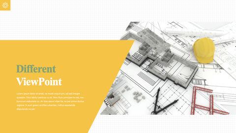 건축 청사진 애플 키노트 템플릿_20