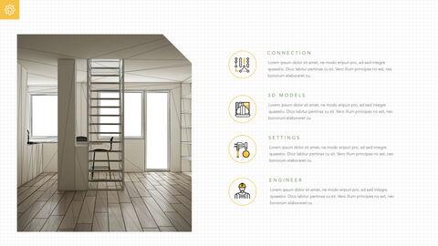 건축 청사진 애플 키노트 템플릿_21
