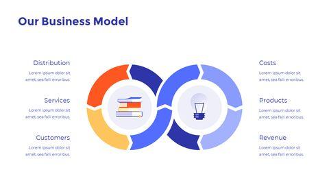 온라인 교육 피치덱 디자인 프레젠테이션 템플릿 디자인_04