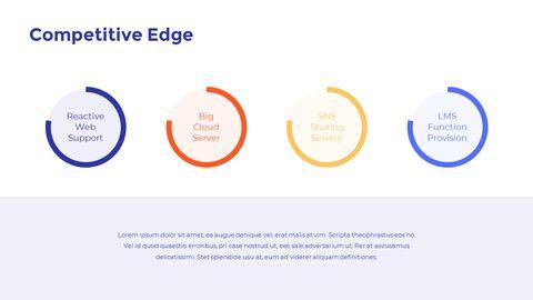 온라인 교육 피치덱 디자인 프레젠테이션 템플릿 디자인_08