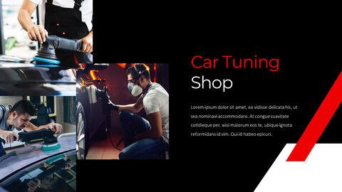 자동차 튜닝 샵 편집이 쉬운 파워포인트 디자인_23