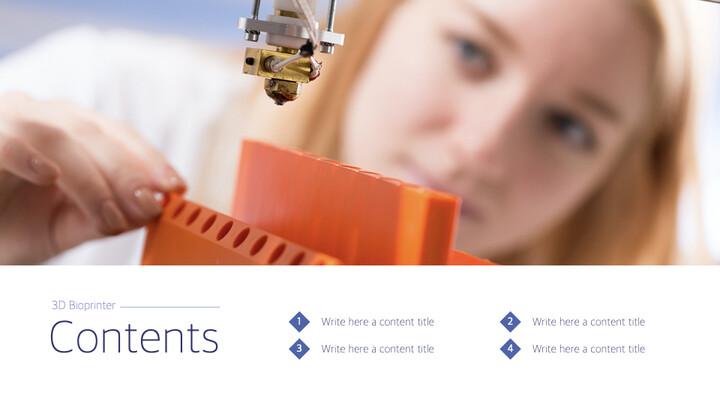 3D Bioprinter Keynote Templates for Creatives_02