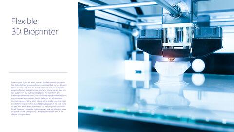3D Bioprinter Keynote Templates for Creatives_03
