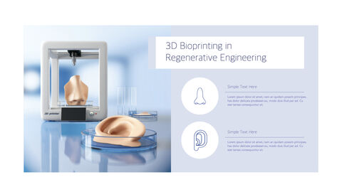 3D Bioprinter Keynote Templates for Creatives_11