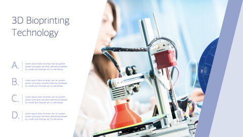 3D Bioprinter Keynote Templates for Creatives_15