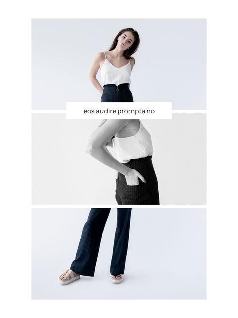 패션 브랜드 세로형 룩북 베스트 비즈니스 파워포인트 템플릿_10