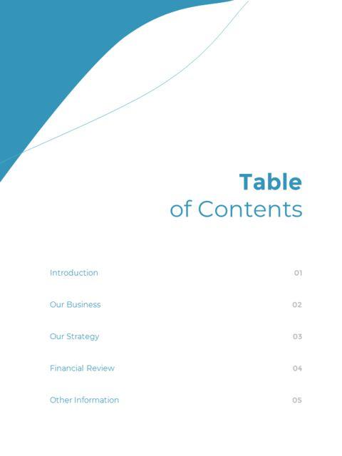 웨이브 디자인 연차 보고서 심플한 템플릿 디자인_03