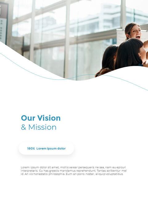 웨이브 디자인 연차 보고서 심플한 템플릿 디자인_09
