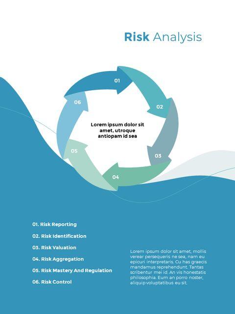 웨이브 디자인 연차 보고서 심플한 템플릿 디자인_16