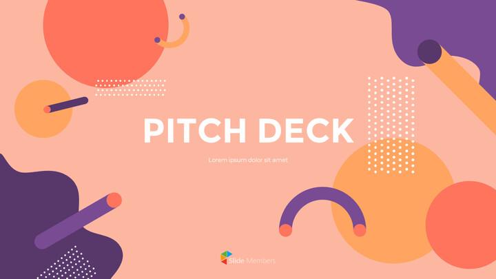 Background design Pitch Deck Marketing Presentation PPT_01