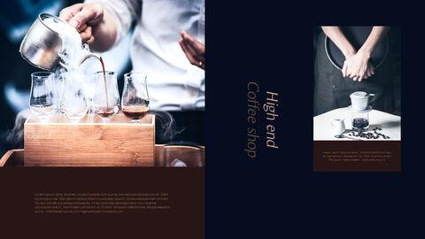 고급 커피 숍 테마 파워포인트_15