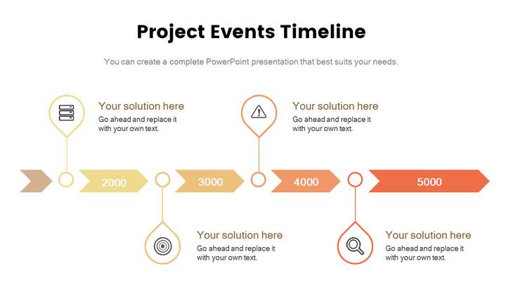 프로젝트 이벤트 타임 라인 간단한 슬라이드_01