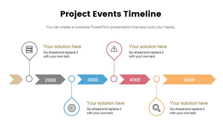 프로젝트 이벤트 타임 라인 간단한 슬라이드_02
