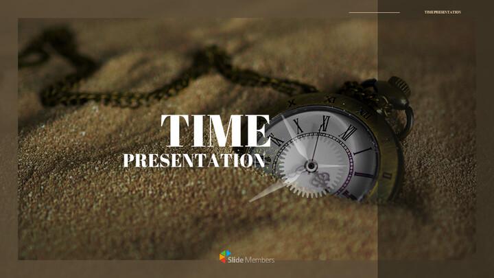 시계 프레젠테이션을 위한 구글슬라이드 템플릿_01