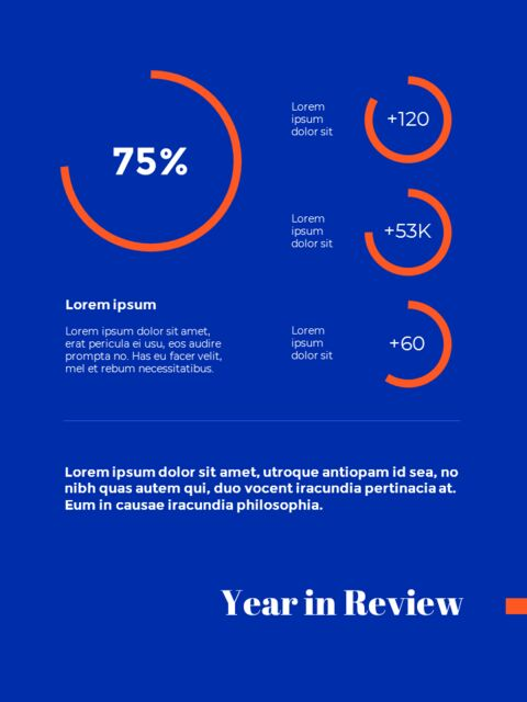 Blue Background Concept Annual Report Best PPT Templates_04