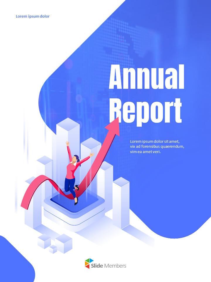 사업 삽화 연례 보고서 베스트 파워포인트 프레젠테이션_01