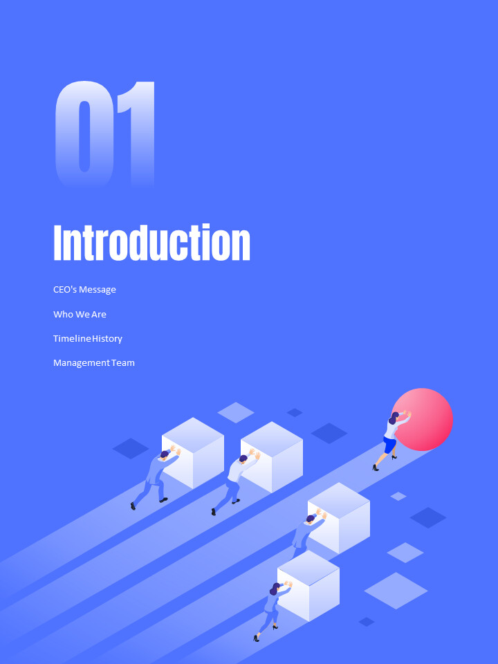 Business Illustration Annual Report Best PowerPoint Presentations_02
