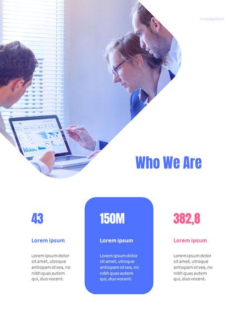 사업 삽화 연례 보고서 베스트 파워포인트 프레젠테이션_04
