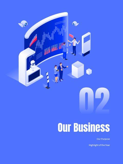 사업 삽화 연례 보고서 베스트 파워포인트 프레젠테이션_07