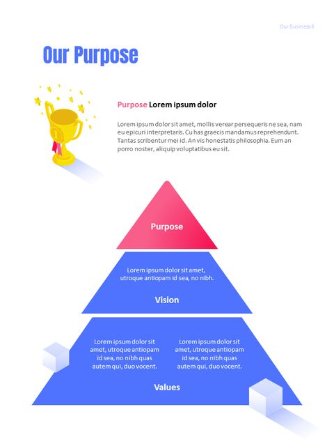 사업 삽화 연례 보고서 베스트 파워포인트 프레젠테이션_08