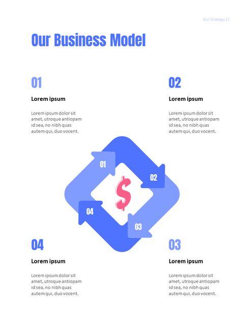 사업 삽화 연례 보고서 베스트 파워포인트 프레젠테이션_12