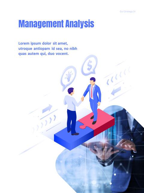 사업 삽화 연례 보고서 베스트 파워포인트 프레젠테이션_14