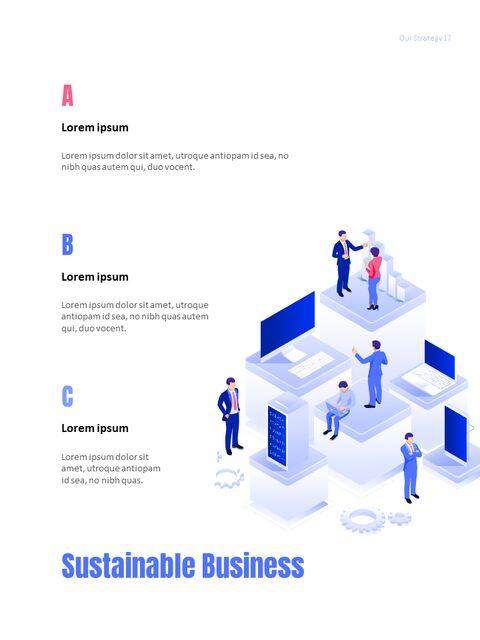 사업 삽화 연례 보고서 베스트 파워포인트 프레젠테이션_17
