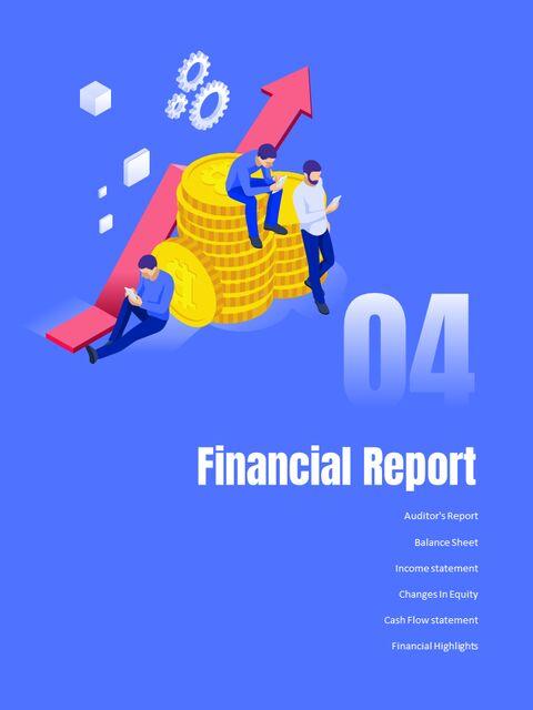 사업 삽화 연례 보고서 베스트 파워포인트 프레젠테이션_18